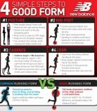 Keys to good running form