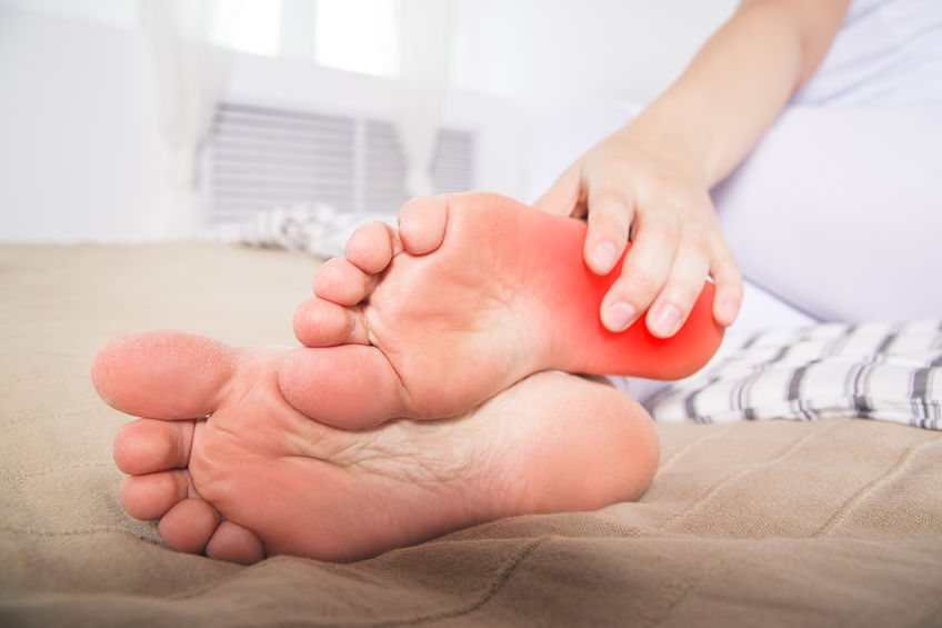 suffering from plantar fasciitis