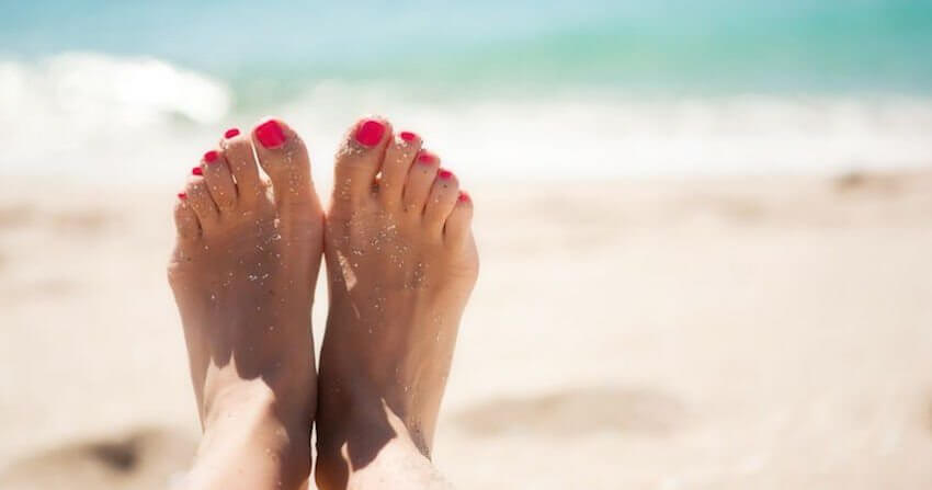 keeping feet healthy
