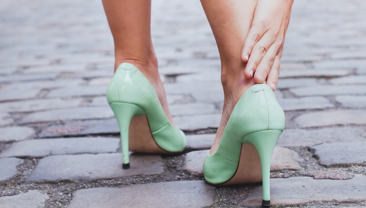 effects of wearing high heels